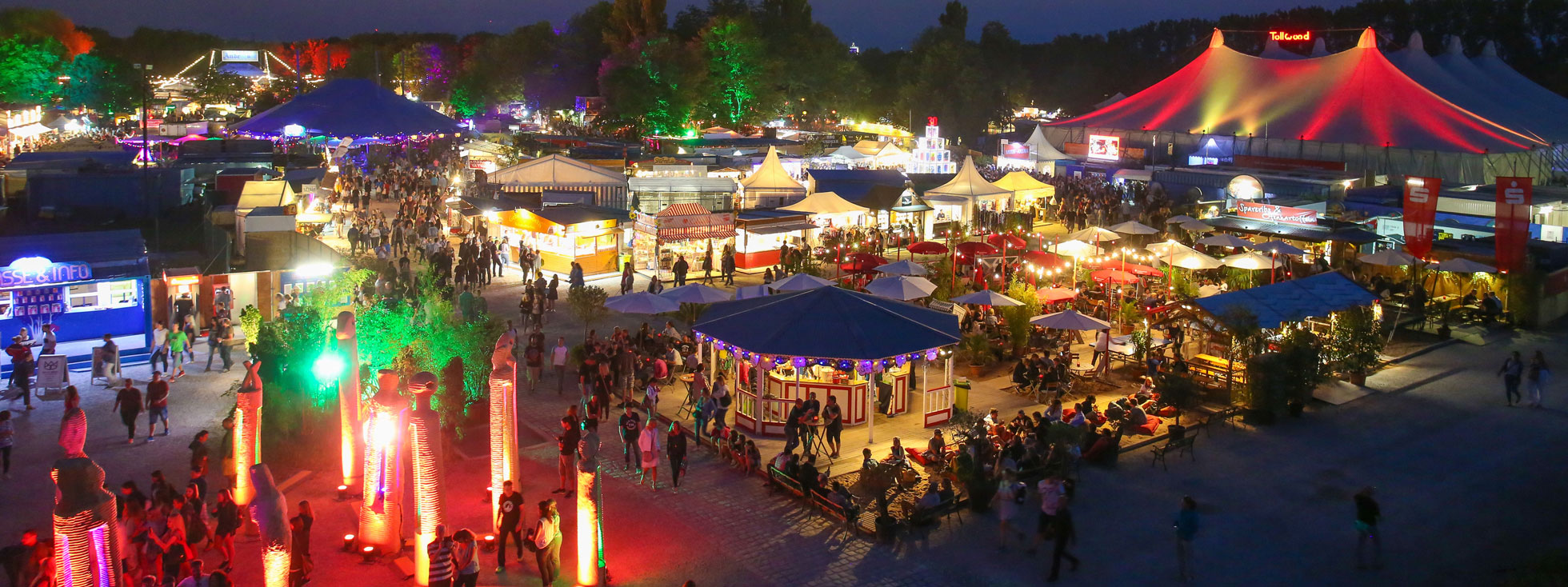 Tollwood Sommerfestival 2018 - Panorama, Foto: Bernd Wackerbauer